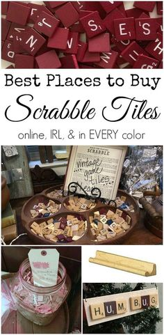 Where to buy Scrabble tiles, online, in real life, and in every color   DuctTapeAndDenim.com