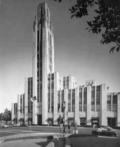 Bullock's Wilshire (1946). 3050 Wilshire Blvd., Los Angeles, Calif. Los Angeles Historic-Cultural Monument No. 56 & National Register of Historic Places No.78000685