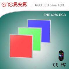 600*600mm Panel Light RGB LED Panel Light   www.ene-led.com
