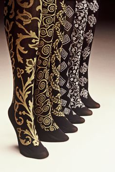 Screen printed socks by Polonova