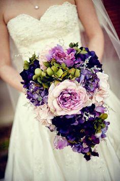 2019 Brides Favorite Purple Wedding Colors---purple and blush bouquet Mod Wedding, Purple Wedding, Floral Wedding, Fall Wedding, Wedding Colors, Dream Wedding, Ivory Wedding, Wedding Blog, Trendy Wedding