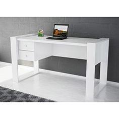 Lord Çalışma Masası - Beyaz