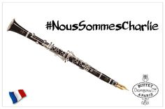 Buffet Crampon supports the freedom of artistic expression in all its forms. We are with you. #WeAreCharlie #NousSommesCharlie #Paris7Janvier
