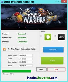 World of Warriors Hack Tool   Free Download