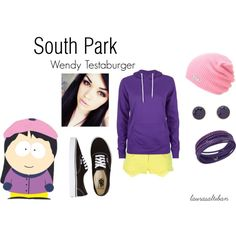 """""""South Park Wendy Testaburger"""" by laurasaltiban on Polyvore"""