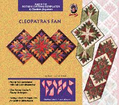 CLEOPATRA'S FAN pattern and templates