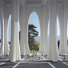 elvish architecture  Grand Resort Bad Ragaz von Smolenicky & Partner Architektur GmbH | Studio5555