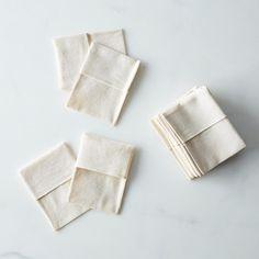 Reusable organic fabric tea bags | Single-use tea bag alternative for a zero waste, package-free home | How to brew bulk, loose leaf tea at home