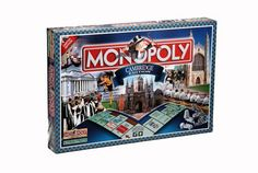 Amazon.com: Winning Moves Monopoly Cambridge Edition Board Game