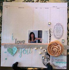 I+Love+You - Scrapbook.com