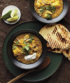 Slow-Cooker Curried Lentils With Chicken and Potatoes | RealSimple.com