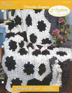 🍃 🌹  🍃 Itens decorativos Criações de Elegante Rosas Afegão Colecionador -  /  🍃 🌹  🍃 Elegant Roses Afghan Collector's Knacks Creations -