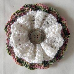 Large Button Flower