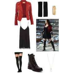 Scarlet Witch inspired by latanita on Polyvore