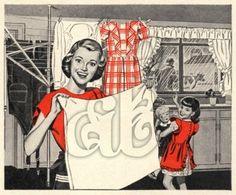 1950's Housewife Happy Homemaker Download Image | Amybarickman.com