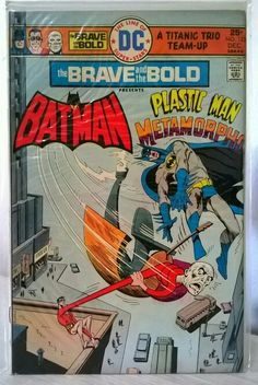 The Brave and the Bold No.123 Batman & Plastic Man & Metamorpho DC Comics.