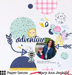 Adventure by @maryannjenkins for the Think Outside the Box Challenge at @paperissuesteam  - maryannjenkins.com