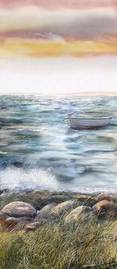Elizabeth Tyler watercolor art