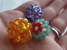Beaded Bead tutorial by Candie Cooper  #jewelrytutorial