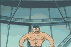 Hulky japanese anime