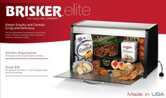 Brisker  ---  I really would love one of these - but where would one more electric box go on my counters???  BooHoo!!!!