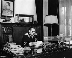 size: Photographic Print: Josip Broz Tito in His Study : Digital Technology, Professional Photographer, Find Art, Framed Artwork, Study, Pure Products, Image, Belgrade, Offices