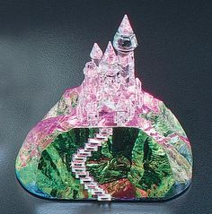 Medium Rainbow Castle from www.CrystalWorld.com #crystal figurines