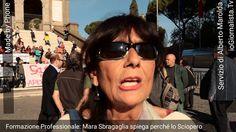 A Roma è Sciopero! La Formazione Professionale è completamente allo sbaraglio…è Protesta! Ascoltiamo il perché, da uno dei Direttori dei Centri di Formazione dislocati, fra l'altro, nelle zone più disagiate della Capitale. L'abbandono che affligge il Comparto, è un Problema Grillino? E' forse la Raggi che si è scordata di intervenire? No, è un problema…