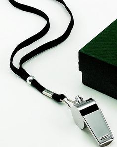 Stainless Steel Coaches Whistle. Great Christmas gift for the team coach. Or any time of year to say Thank You. Only $16 (http://www.thirtysevenwest.com/coach-whistle/)