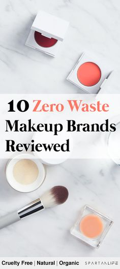 If you're looking for zero waste makeup and sustainable makeup brands, this post lists the top brands I recommend for zero waste, natural & organic makeup! Top Makeup Brands, Natural Makeup Brands, Organic Makeup Brands, Natural Cleaning Products, Best Makeup Products, Natural Organic Makeup, Best Natural Makeup, Organic Beauty, Natural Beauty