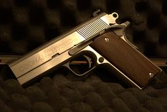 Coonan Cadet with wood grips