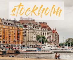 STOCKHOLM TRAVEL DIARY: Eat, Stay, See, and $$$ #stockholm #stockholmtravel #travelguide #stockholmtravelguide Stockholm Travel, Travel Guide, Street, Eat, Shots, Walkway