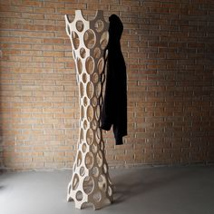 "#design #hanger ""King"" is a clothes hanger which gains an important role in the furnishing of an environment. An object which is very functional, but at the same time restores in the house, a typical shape of the natural environment with its organic shape."