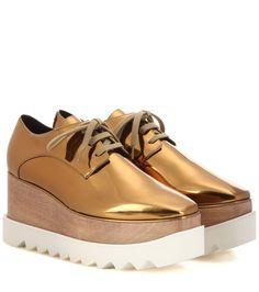 00c2c500c44 Britt metallic platform derby shoes · Elyse Stella MccartneyOxford ...