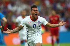 Vargas scoring against Spain..!!
