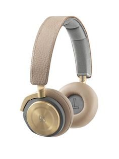 B&O Play by Bang and Olufsen H8 Headphones - Argilla Bright | very.co.uk #FashionTech #Gold