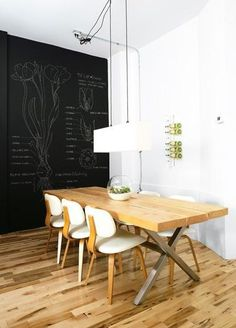 Will have at least one chalkboard wall for endless entertainment :)