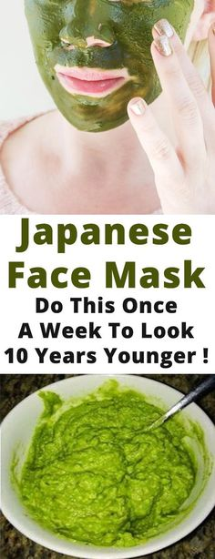 Japanese Face Mask: Do This Once A Week To Look 10 Years Younger ! – Fit Mom Source by marilynredondo Homemade Facial Mask, Homemade Facials, Younger Skin, Younger Looking Skin, Kitsune Maske, How To Exfoliate Skin, Anti Aging Skin Care, Skin Care Tips, Skin Tips