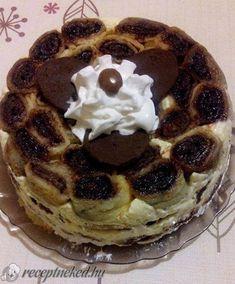 Kefires vaníliakrémes rakott palacsinta Waffles, Pancakes, Breakfast, Kitchen, Food, Morning Coffee, Cooking, Kitchens, Essen