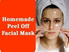 This deep peel-off mask will not only remove the accumulated dead skin cells but also remove the dust particles that clog your pores. Homemade Peel Off Mask, Face Scrub Homemade, Homemade Face Masks, Homemade Moisturizer, Homemade Facials, Face Peel Mask, Face Mask For Blackheads, Skin Mask, Face Skin