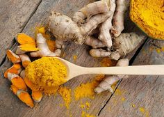Girl With Curves - Turmeric In A Spoon