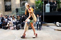 Lucy Treadwell, Oxford Fashion Studios, London Fashion Week SS16, Devonshire Square