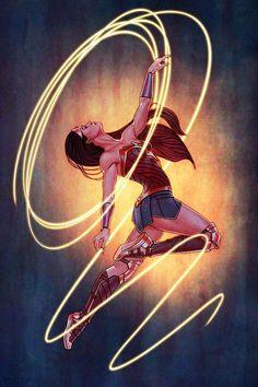 Batman\'s Black Rose — thorodinson: Wonder Woman #23 variant cover by...