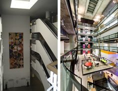 Zynga, Inc. Atrium; Before and After