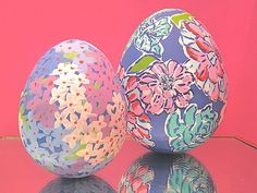 Use Lilly Pulitzer designs as inspiration for your Easter basket