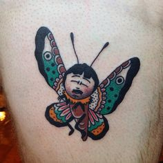 Always happy to do another Randy butterfly from my South Park flash sheet…