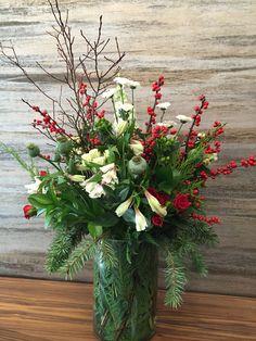 Floral Arrangements, Christmas Wreaths, Floral Design, Table Decorations, Holiday Decor, House, Inspiration, Home Decor, Biblical Inspiration