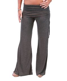 This Charcoal Lounge Pants by Undie Couture is perfect! #zulilyfinds