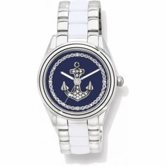 Check out this Nautical Brighton Annapolis Watch! Who else is ready for the beach?? #AshworthPrimandProperLoves