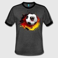 soccer.png - Männer Retro-T-Shirt